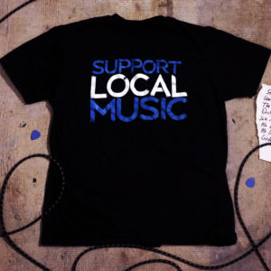 Support Local Music – Tape Tee