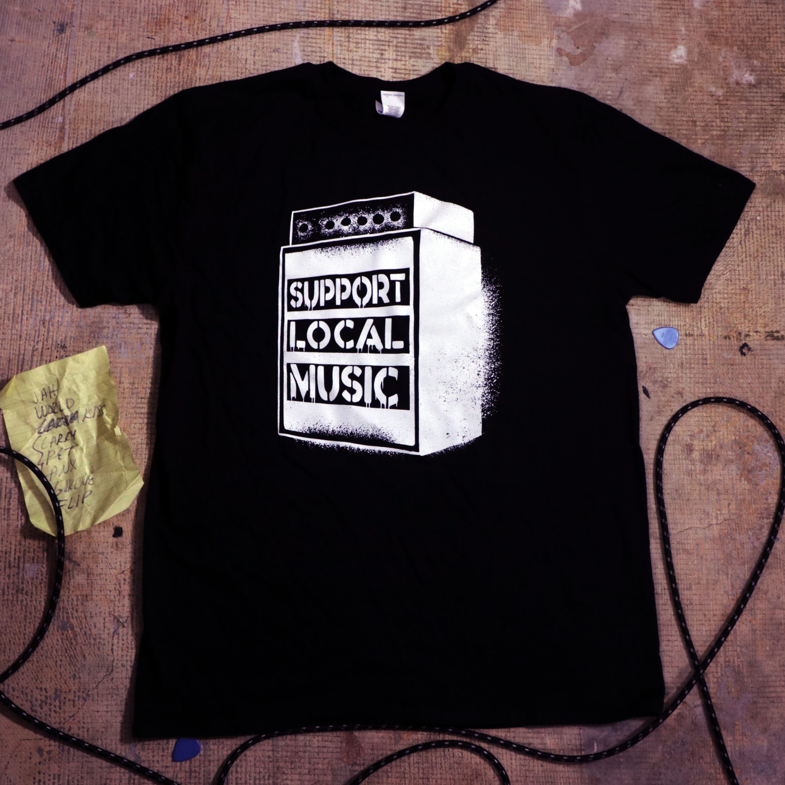 Support Local Music – Stack Tee
